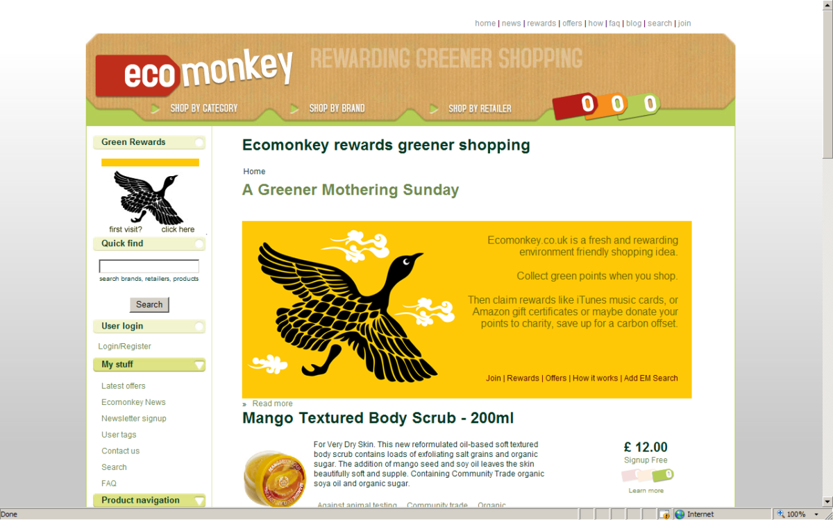 Ecomonkey – The Backend